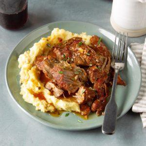 Pressure-Cooker Balsamic Pork Tenderloin