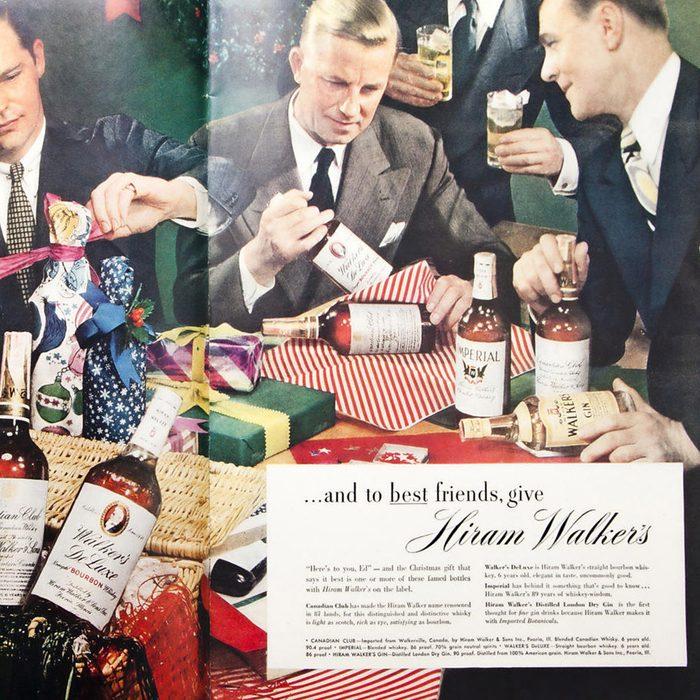 VINTAGE DRINK AD