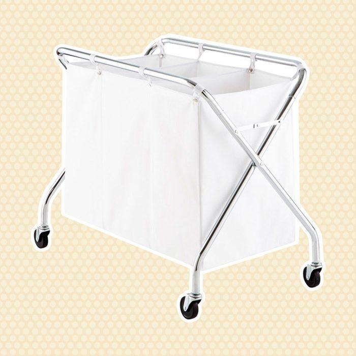 3-Bin Rolling Laundry Sorter
