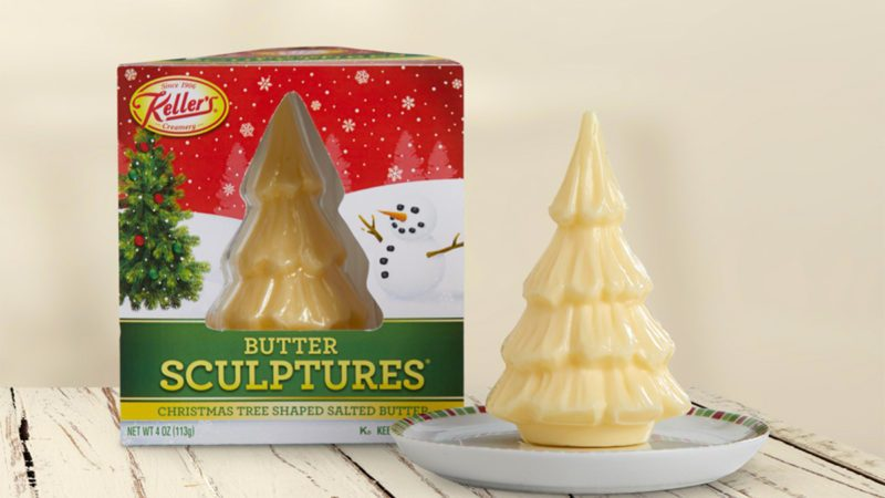 christmas tree butter