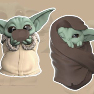 Target Is Selling Adorable Baby Yoda Figurines Right Now and We Need One of Each