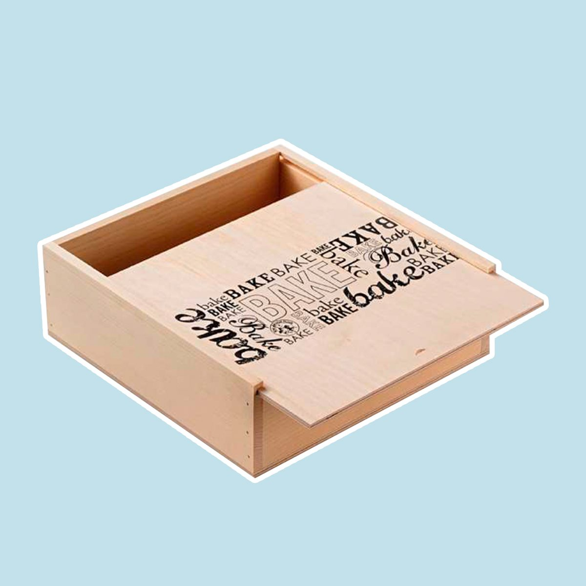 Wooden Treat and Pie Box