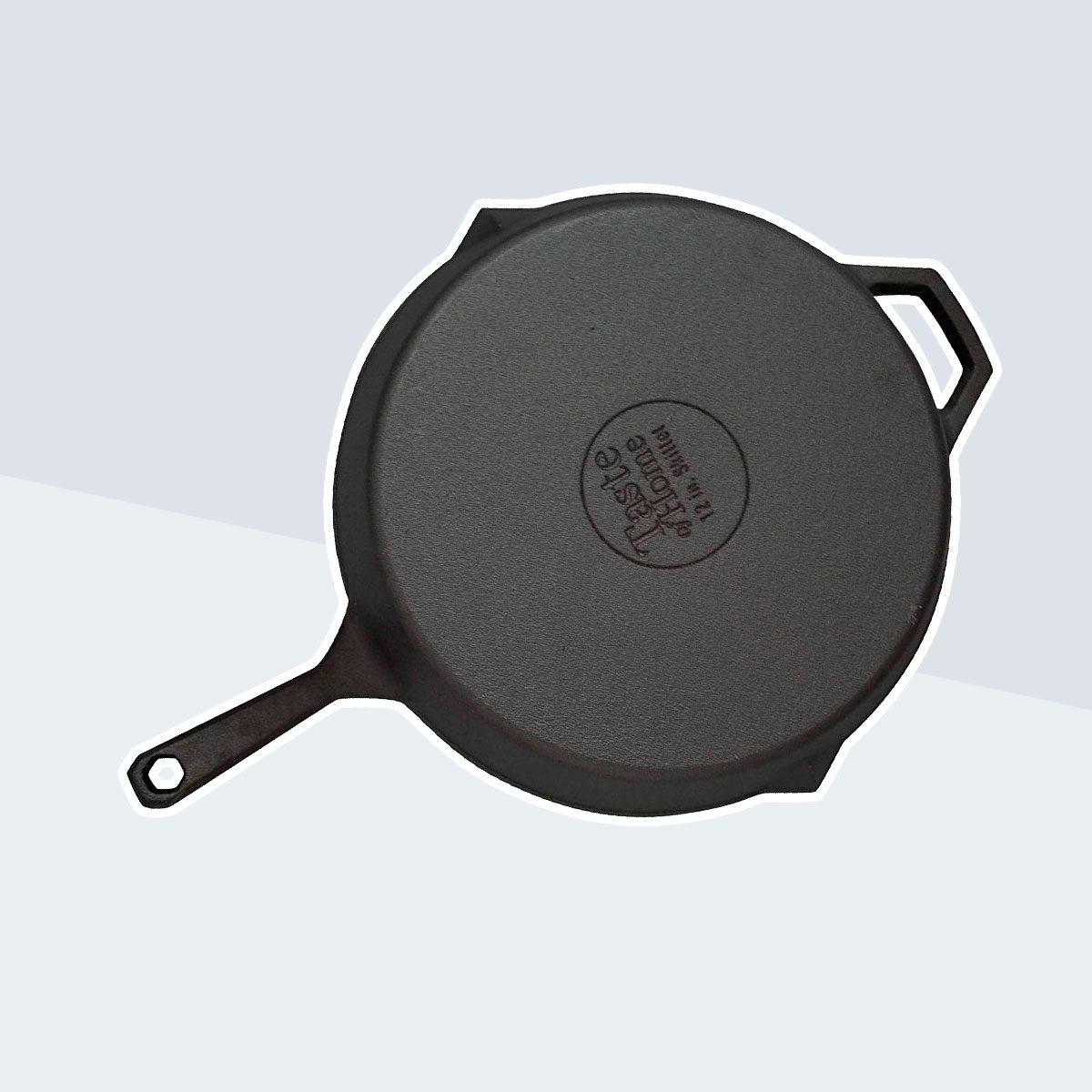 Taste of Home 12-inch Pre-Seasoned Cast Iron Skillet