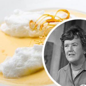 This Floating Island Dessert Was One of Julia Child's Favorites