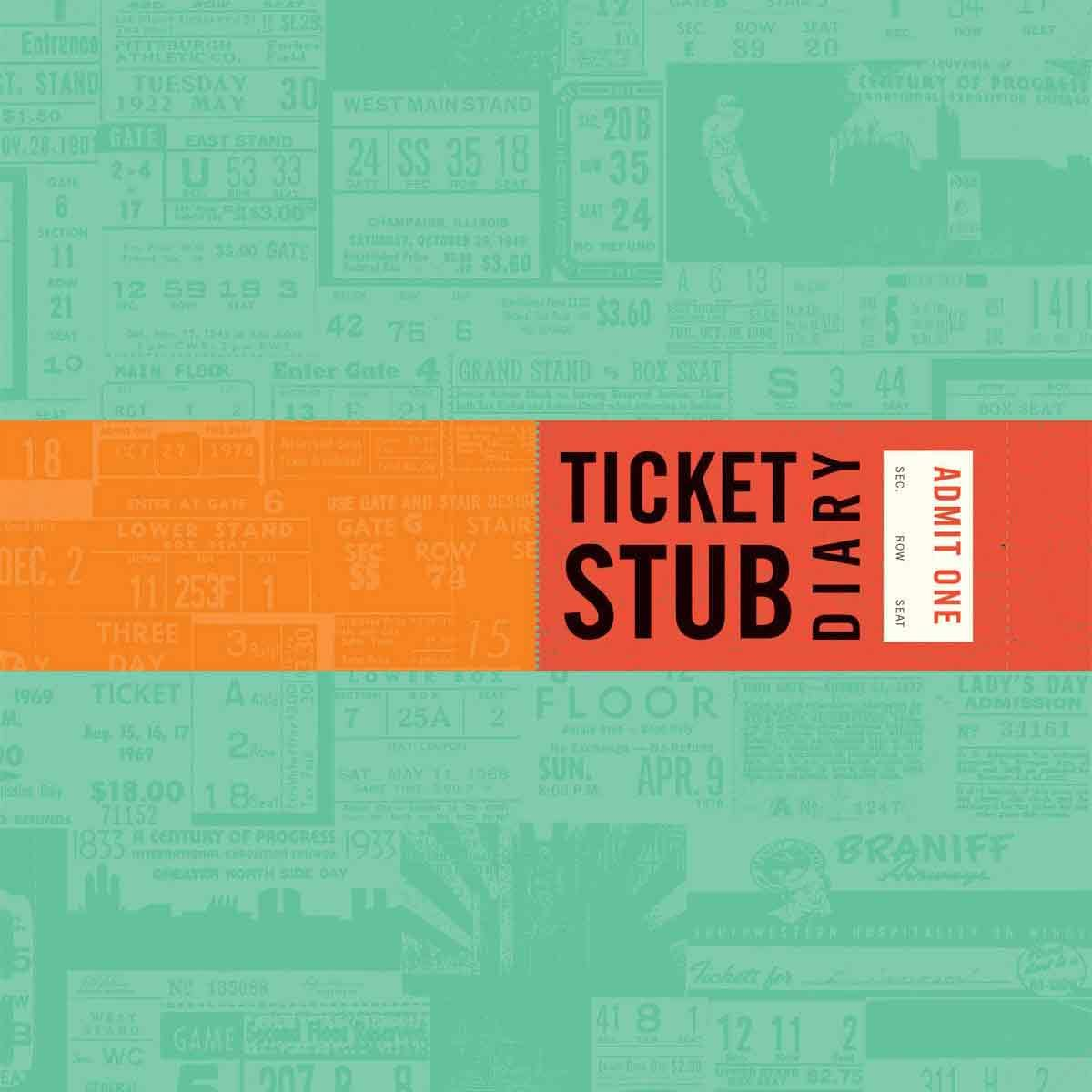 Ticket-Stub-Diary