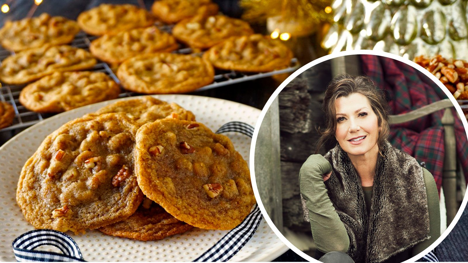 Amy Grant Shared Her Grandmother's Pecan Cookie Recipe. Here's How to Make It.