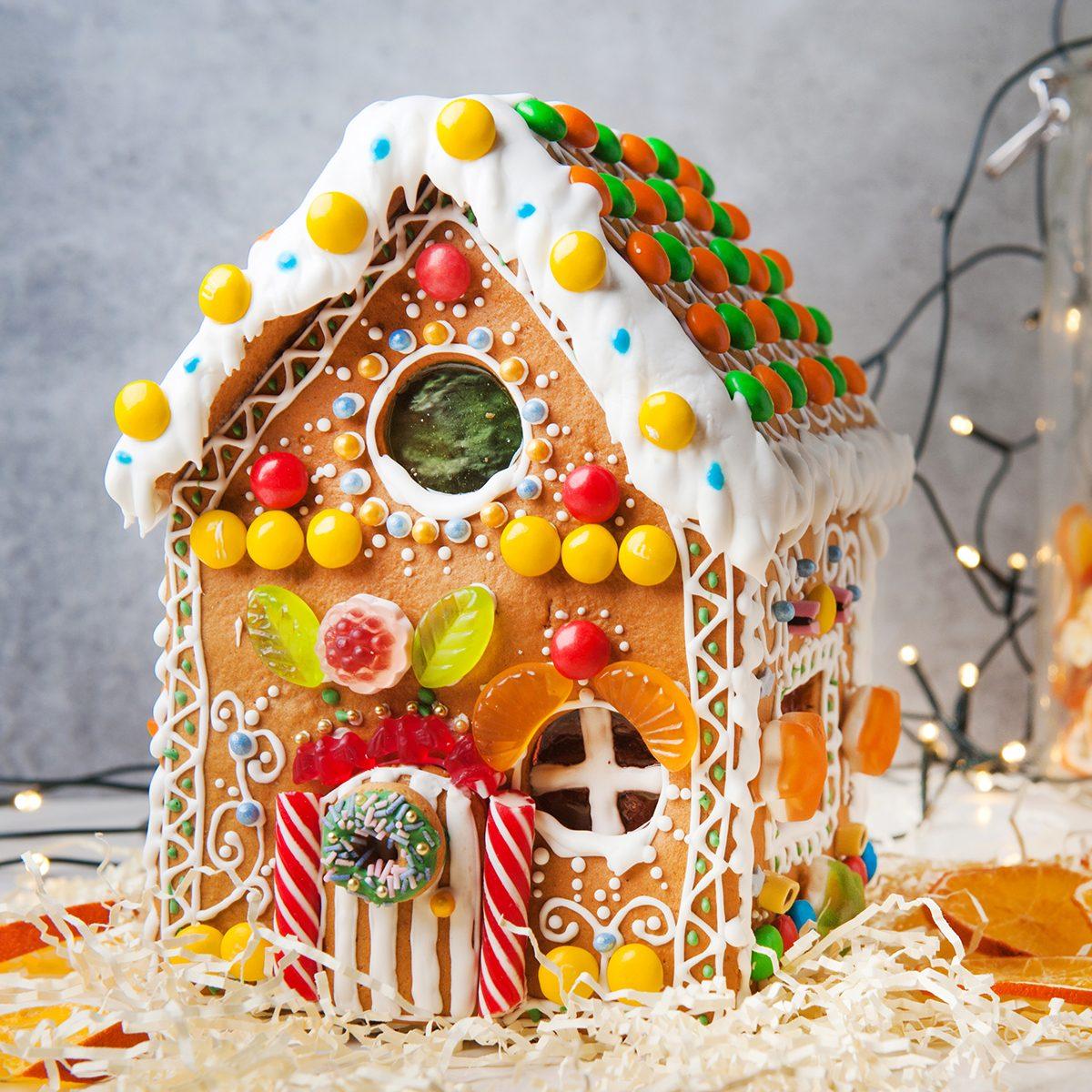 Beautiful gingerbread house