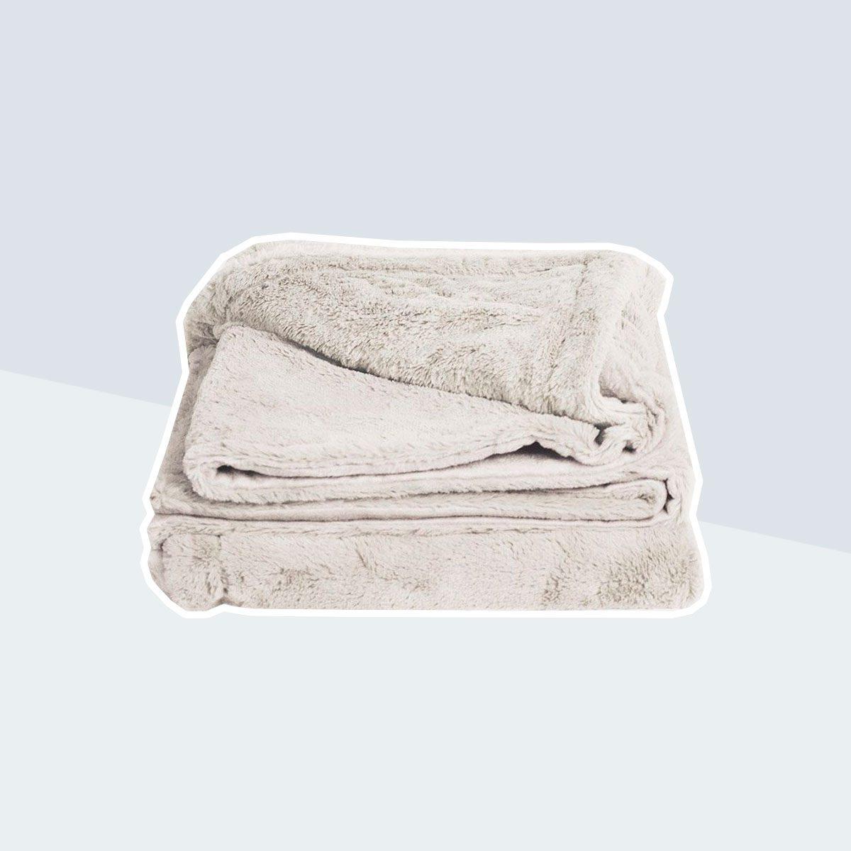 Cariloha Plush Bamboo Throw Blanket
