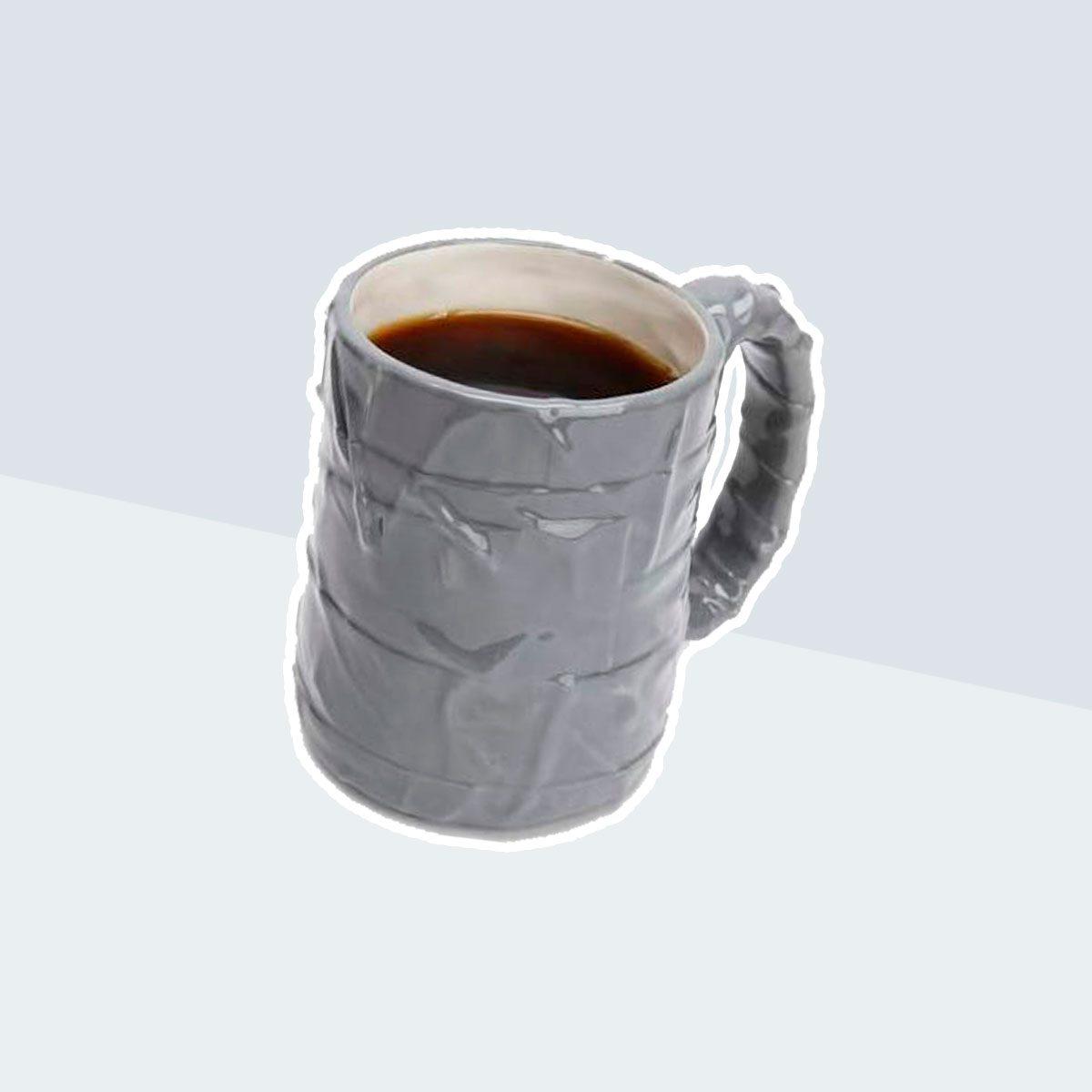 Plug Silver Duct Tape Coffee Mug