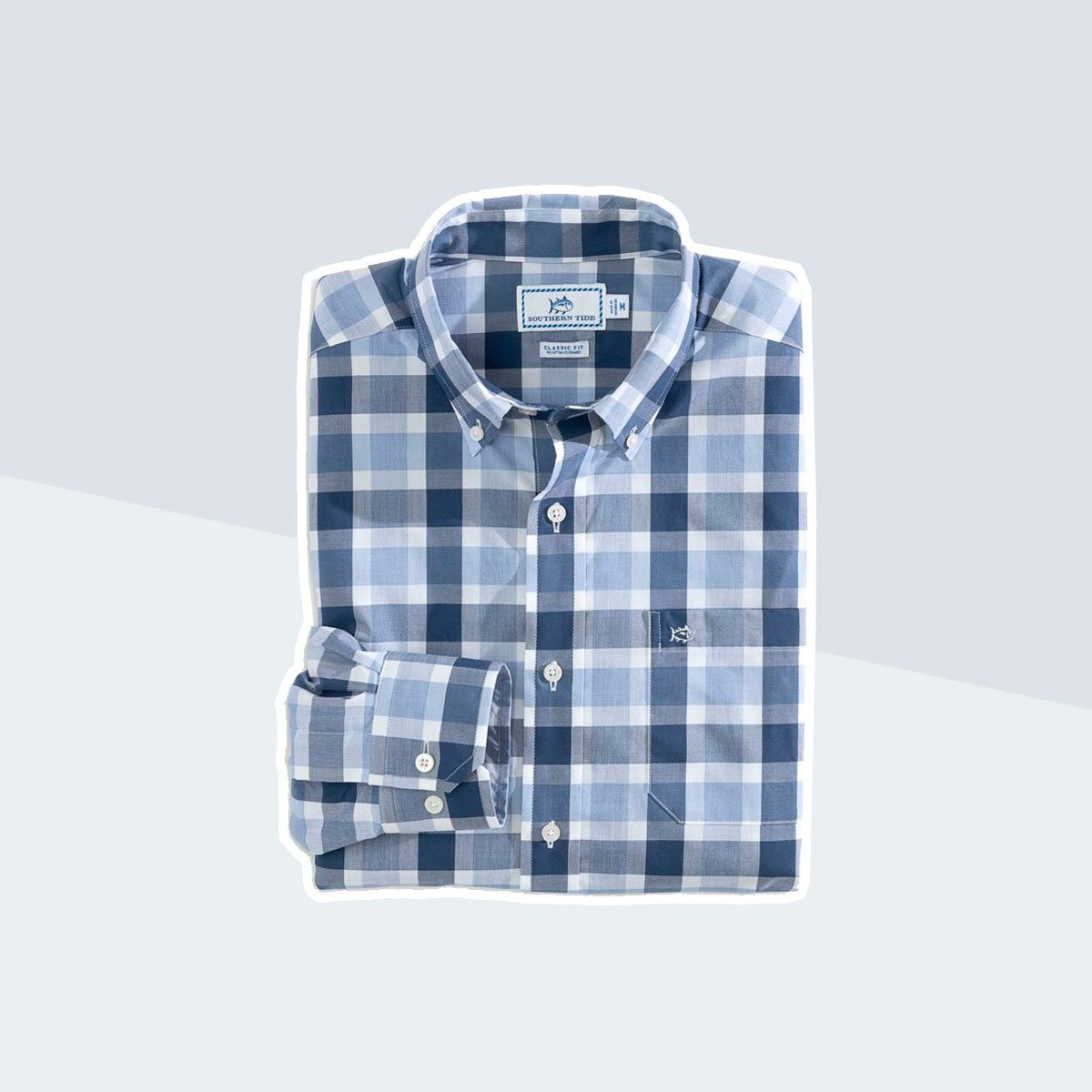 Southern Tide Pearl Plaid Button-Down Shirt