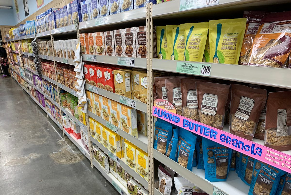Trader Joe's store in New York.