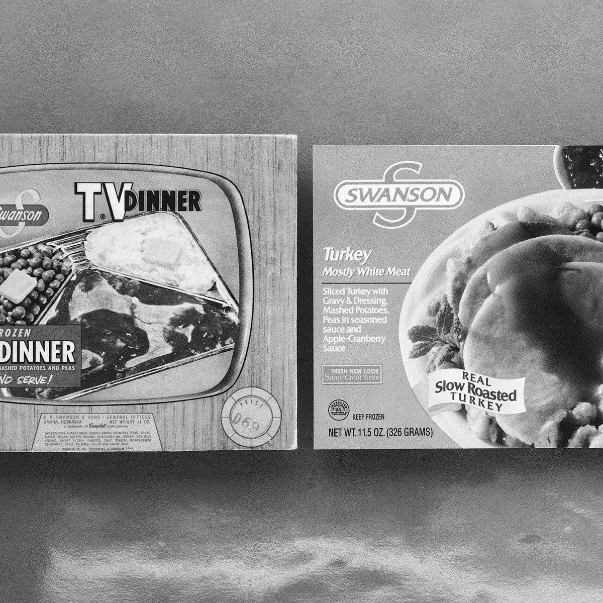 Vintage tv dinners
