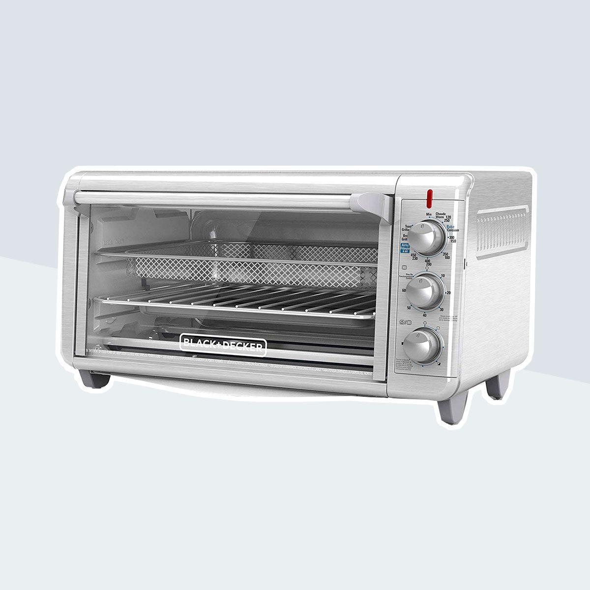 Black + Decker Crisp and Bake Air Fry Digital Convection Toaster Oven