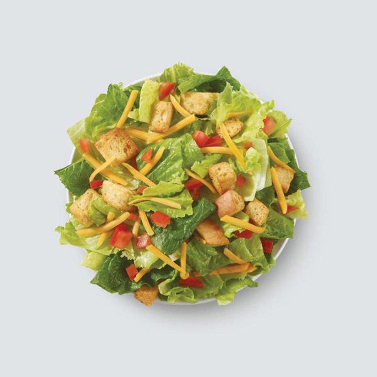 wendys garden side salad