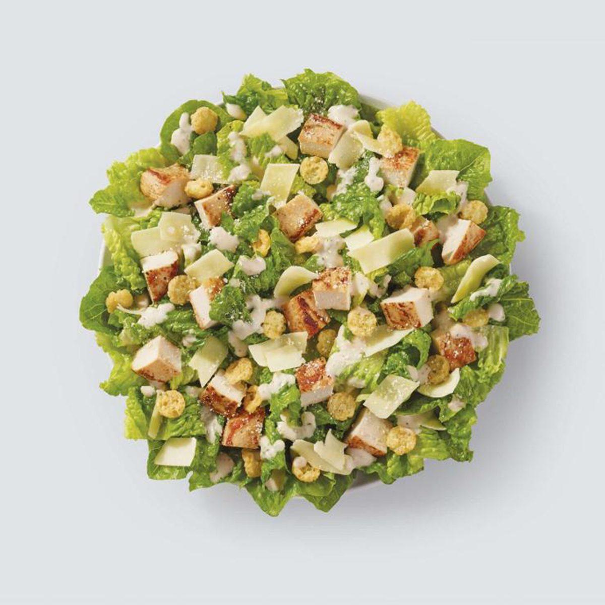 wendys parmesan caesar salad