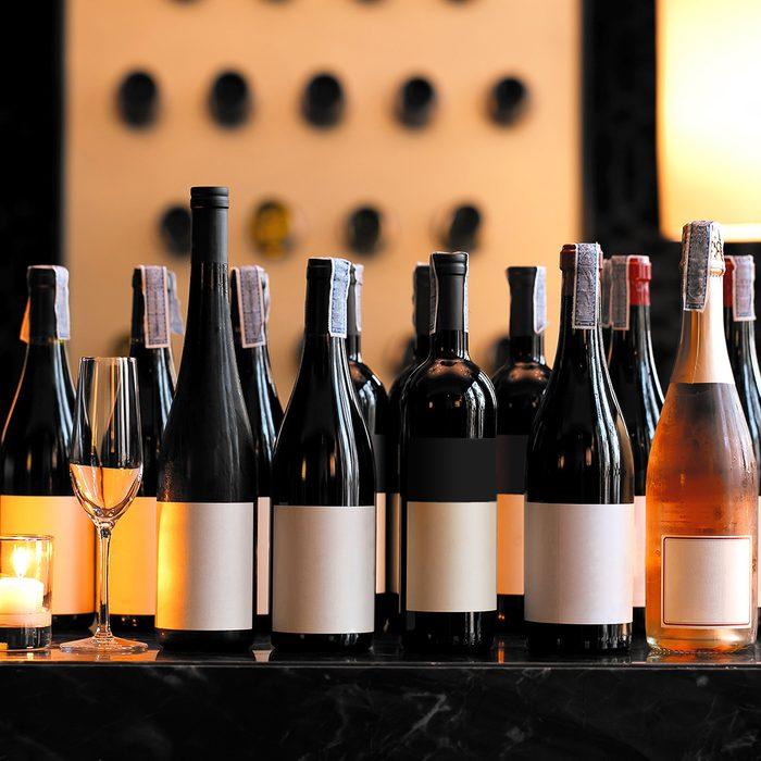 Multiple bottles of wine