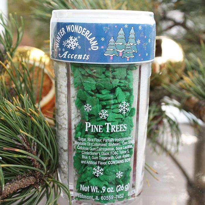 winter wonderland christmas sprinkles