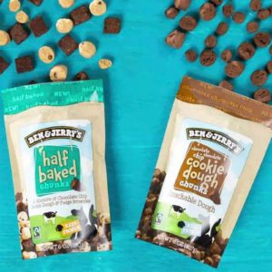 Ben & Jerry's Just Dropped TWO New Flavors of Cookie Dough Chunks