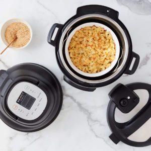 This Brand-New Gadget Turns Your Instant Pot into an Air Fryer