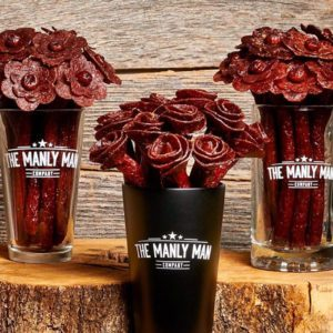 Beef Jerky Bouquets Are the New Roses This Valentine's Day