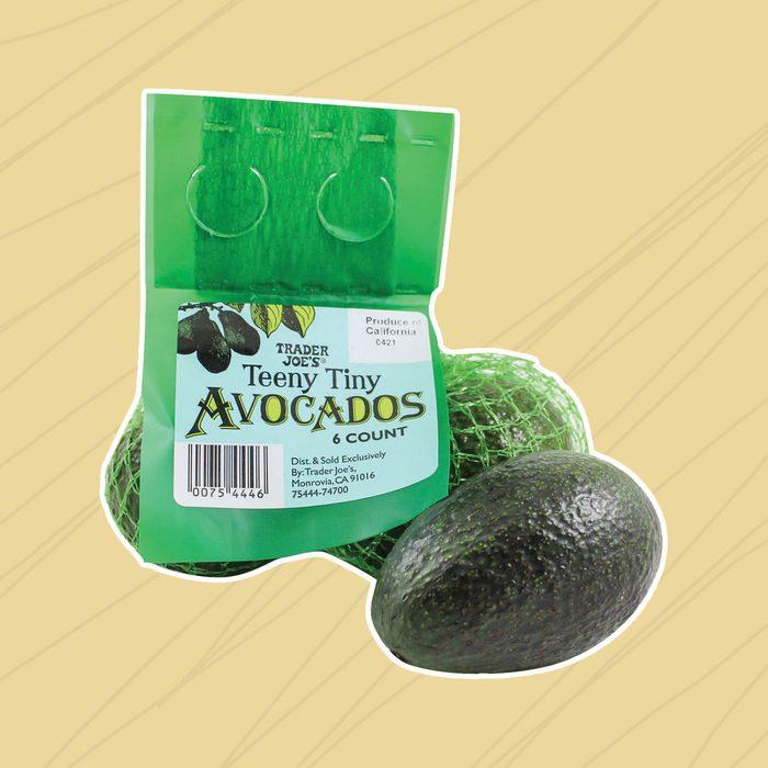 Avocados teeny tiny