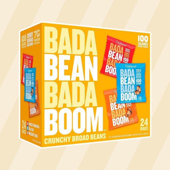 Enlightened Bada Bean Bada Boom Plant-based Protein, Gluten Free, Vegan, Non-GMO, Soy Free, Roasted Broad Fava Bean Snacks, The Classic Box Variety Pack, 1 Ounce (24 Count)fe