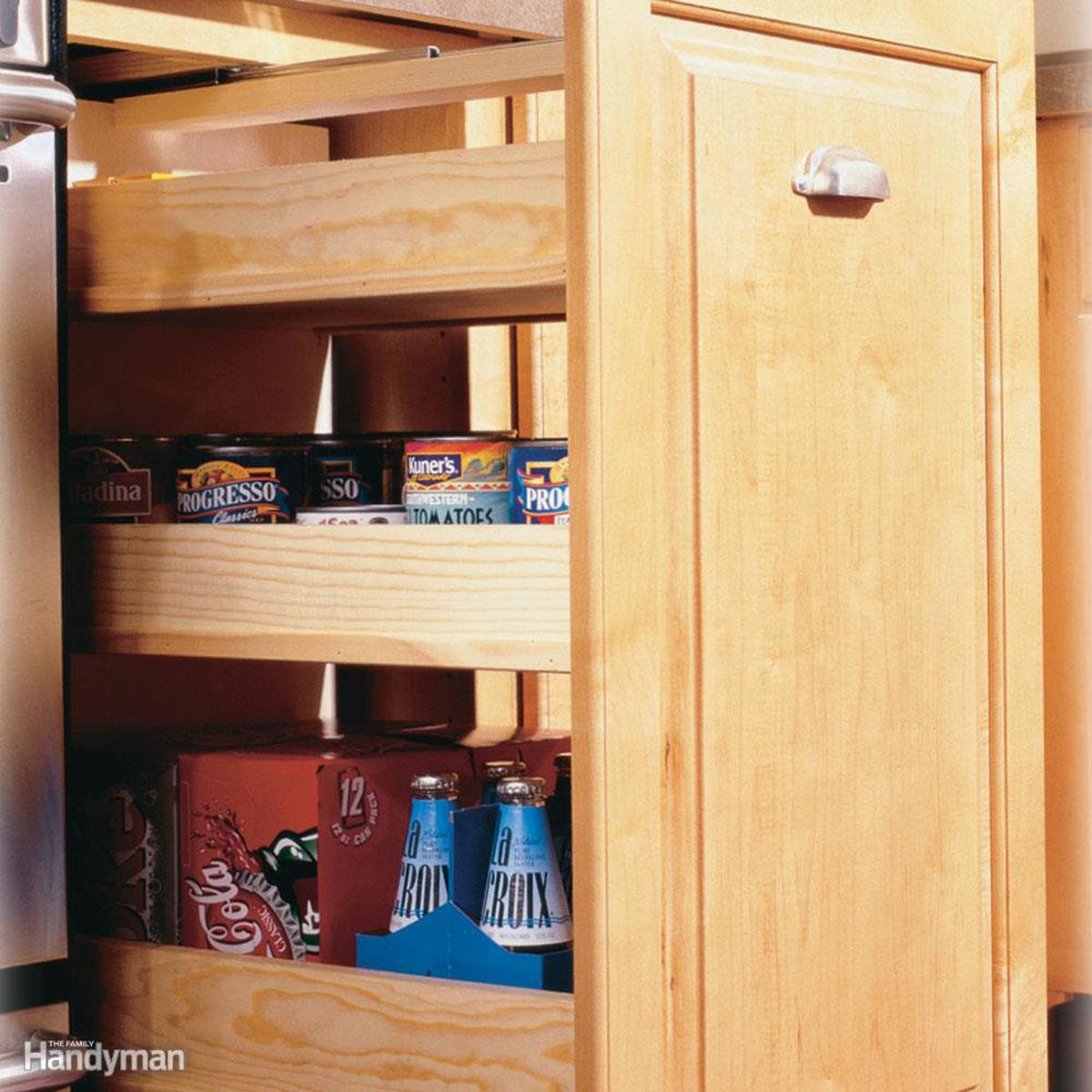 Roll-Out Pantry Cabinet