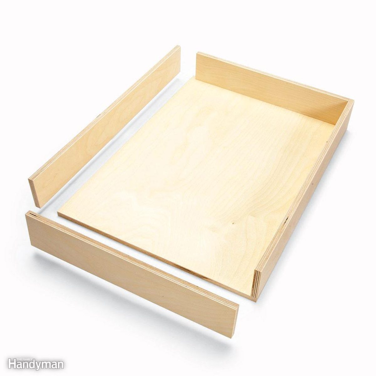 Simple wooden drawer example