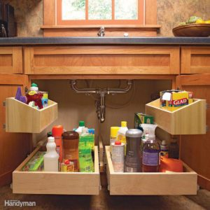 6 Roll-Out Cabinet Drawers You Can Build Yourself