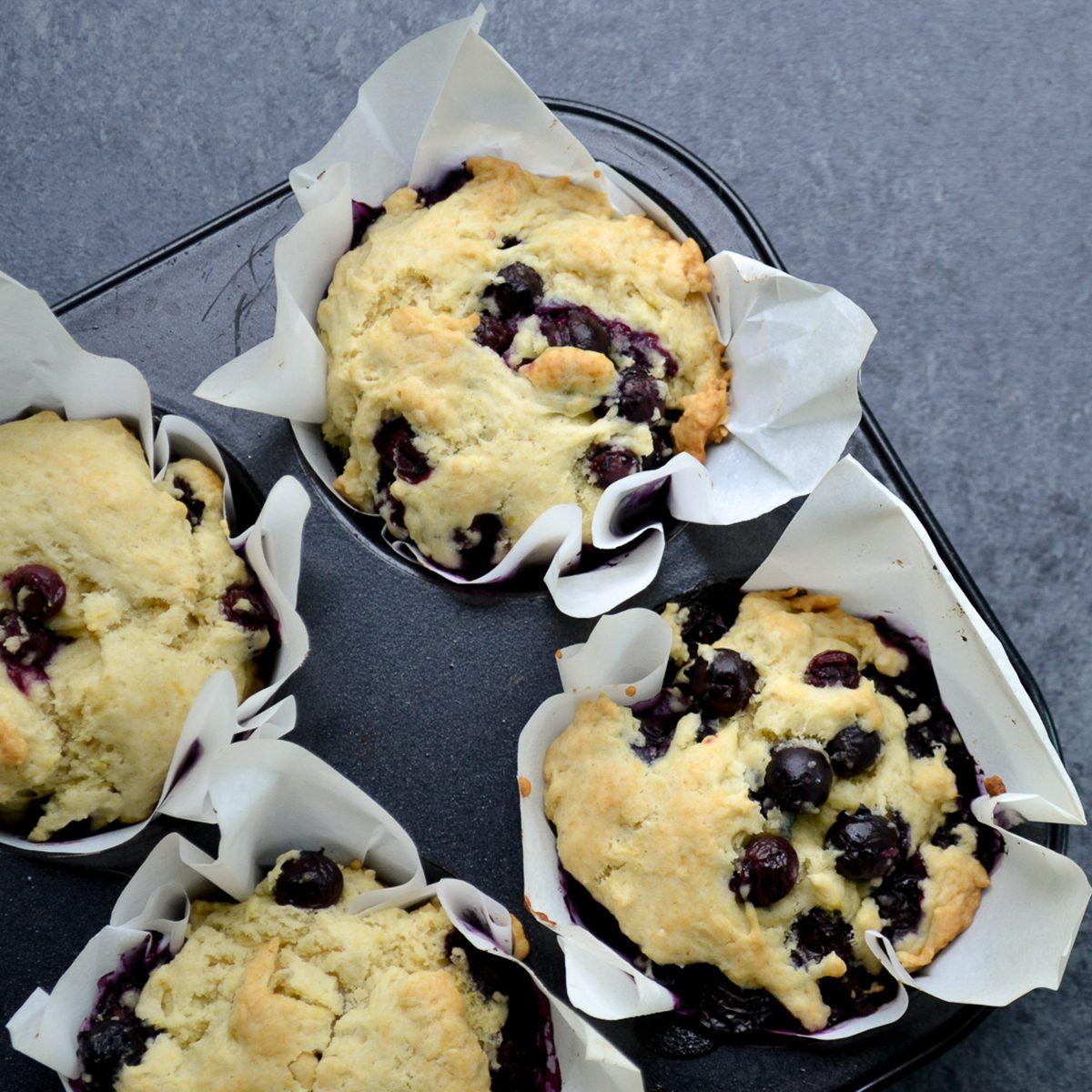 Delightful Vegan Blueberry Muffins