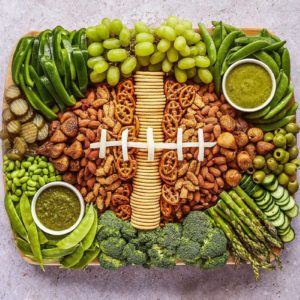 This Football Snack Board Is the Best Idea for a Game Day Spread