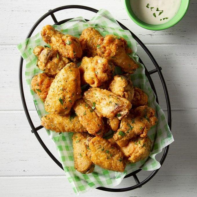 Fried Lemon-Pepper Wings