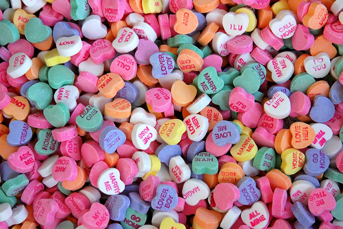 Sweethearts Conversation Hearts Will Be Back in Time for Valentine's Day