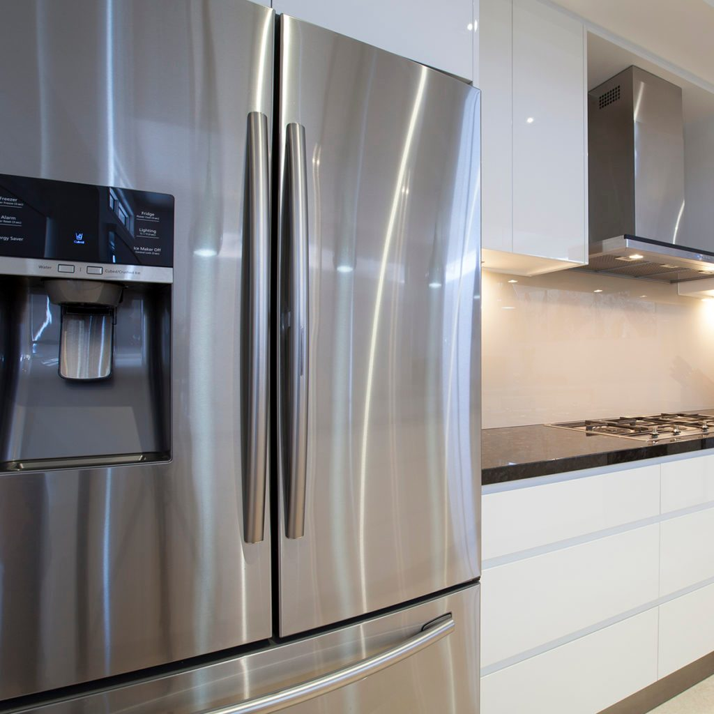 New luxurious kitchen interior