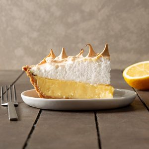 Honey Lemon Meringue Pie