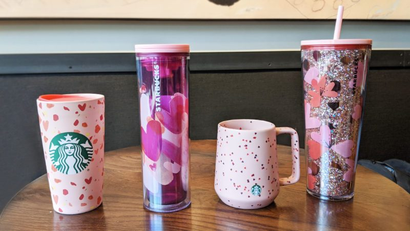 starbucks valentines day cups