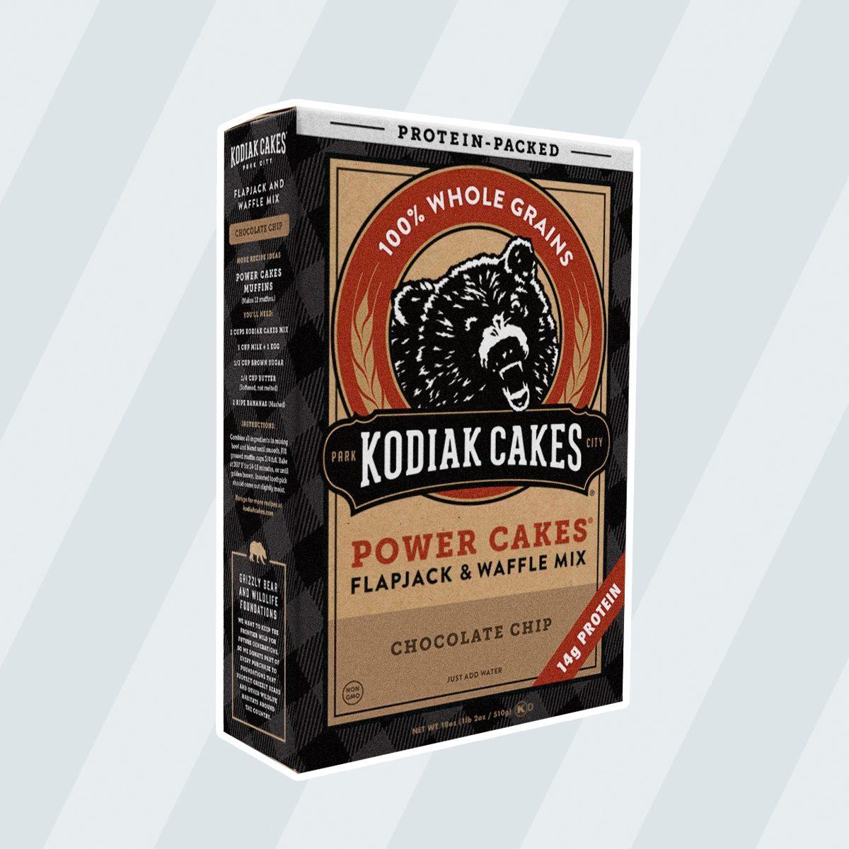 Kodiak Cakes Pancake Power Cakes, Flapjack & Waffle Mix, Chocolate Chip, 18 Ounce