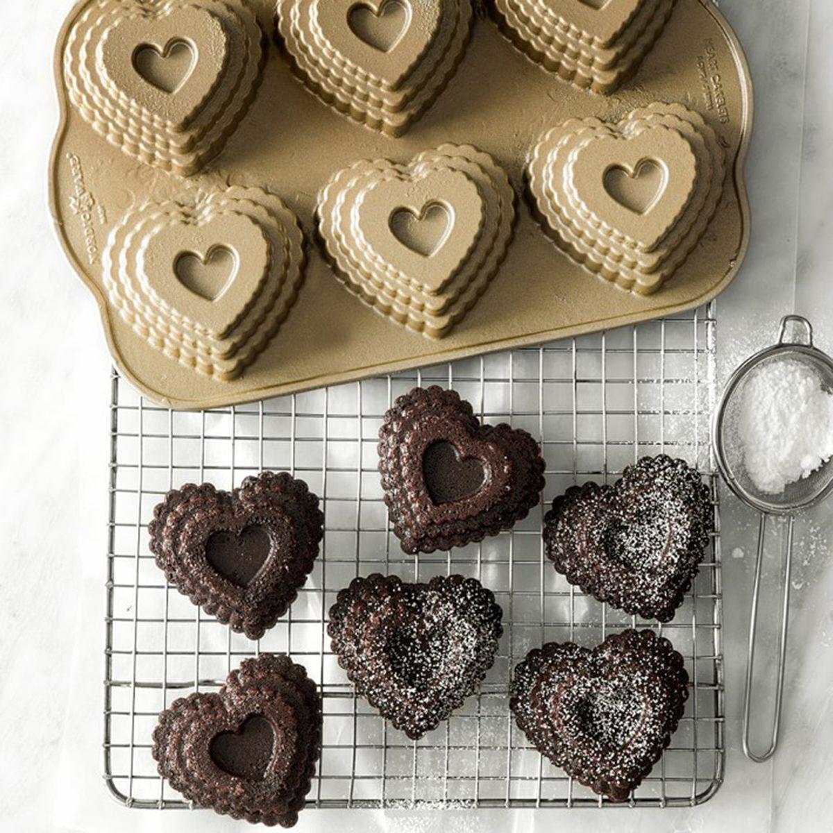 Nordic Ware Valentine Heart Cakelet Pan