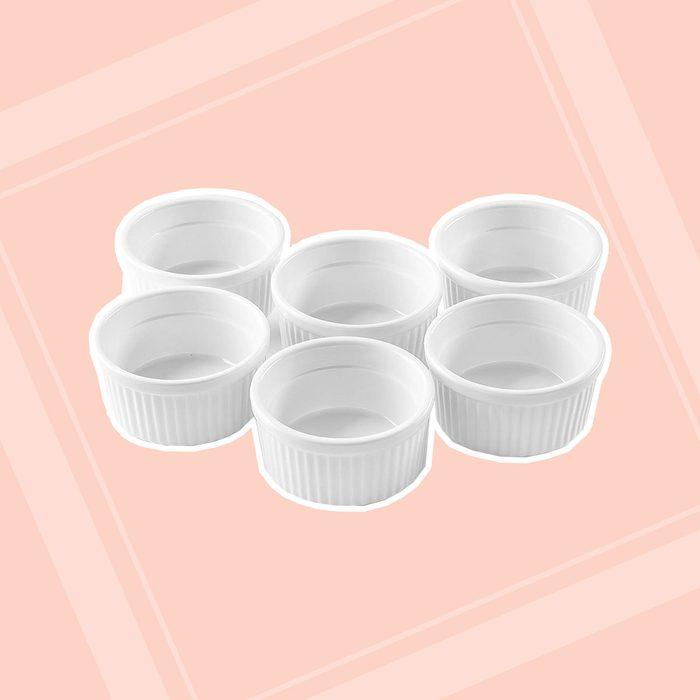 Bellemain Porcelain Ramekins, set of 6 (4 oz.)