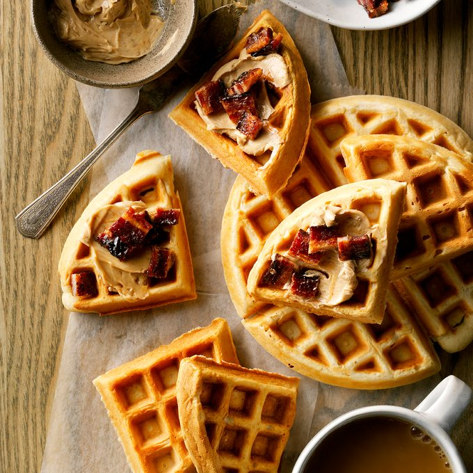 Coffee Butter Waffles