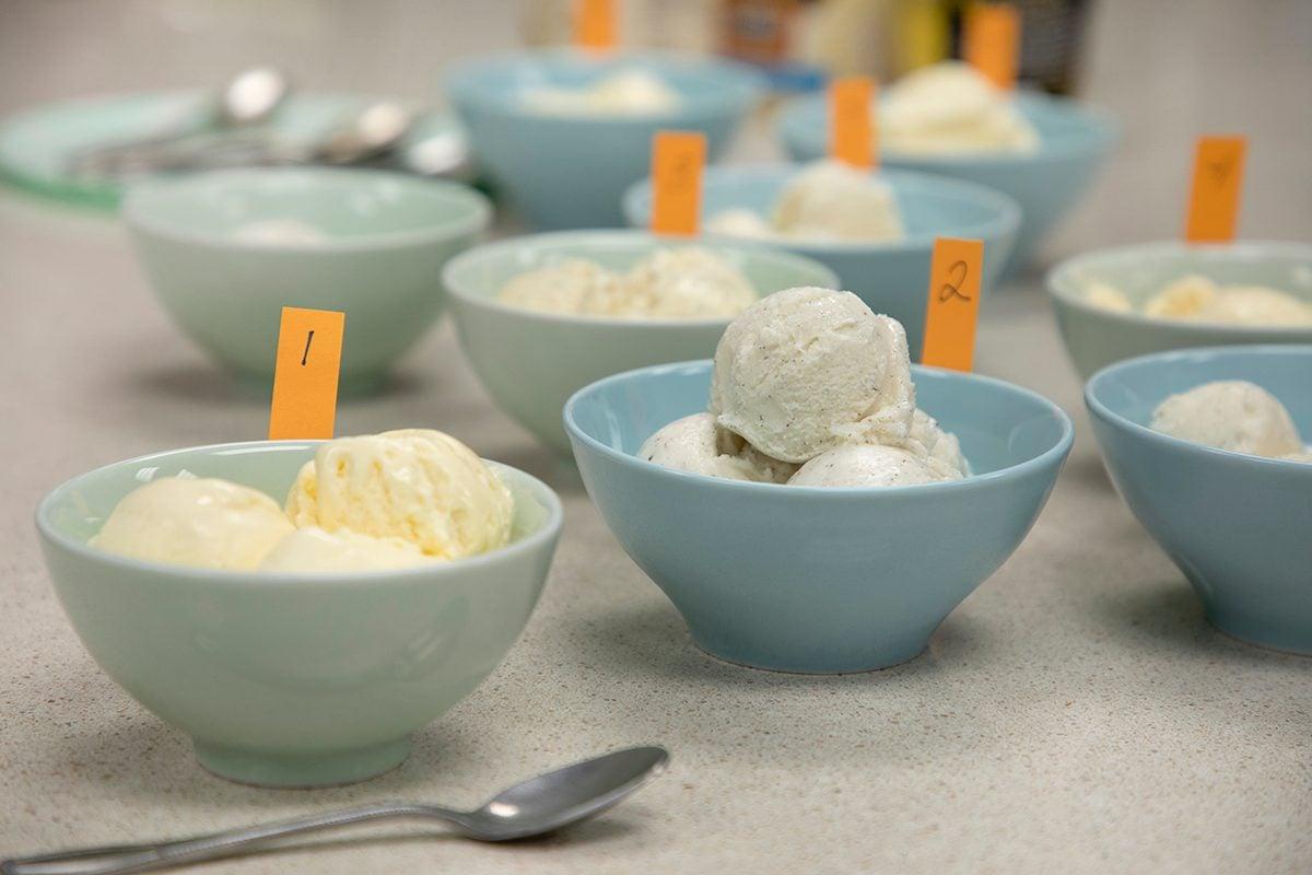 Healthier Icecream; BLB; Best Loved Brands; BTT; Blind taste test; vanilla icecream