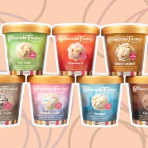 Cheesecake Factory Ice Cream Is Coming Soon—with 7 Decadent Flavors