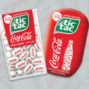 Coca-Cola Tic Tacs Taste JUST Like an Ice-Cold Coke