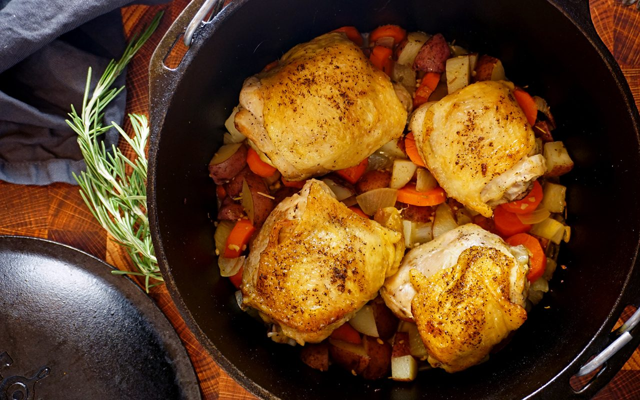 How To Make Dutch Oven Chicken Thighs Extra Tips
