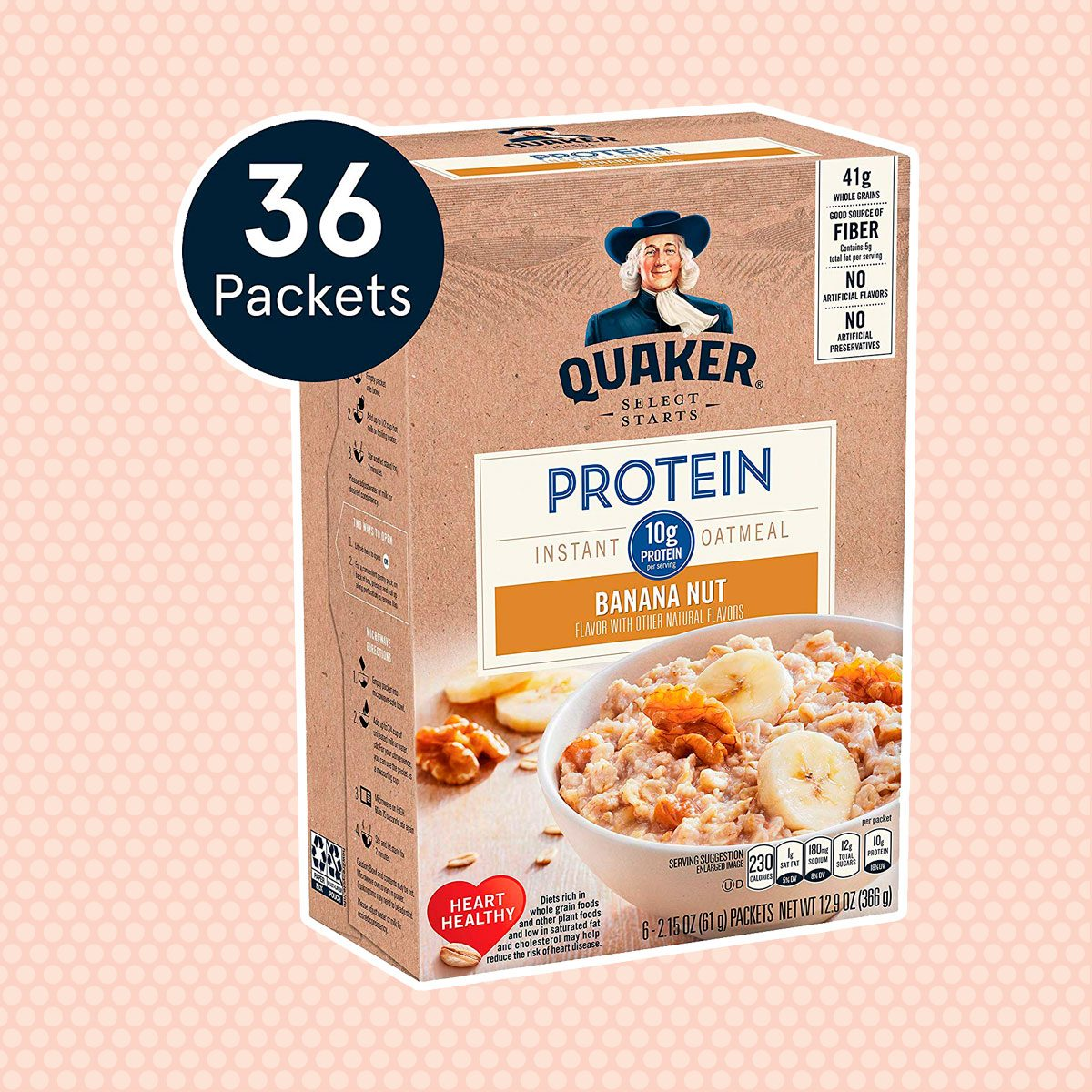 Quaker Protein Instant Oatmeal Packet