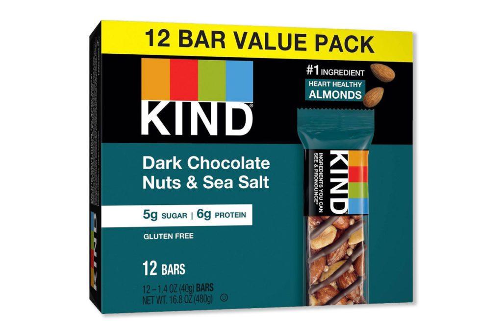 kind dark chocolate bar protein bar