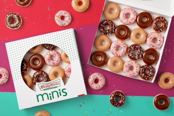 krispy kreme mini doughnuts