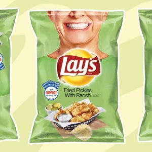 Lay's Fried Pickles with Ranch Chips Are Back!