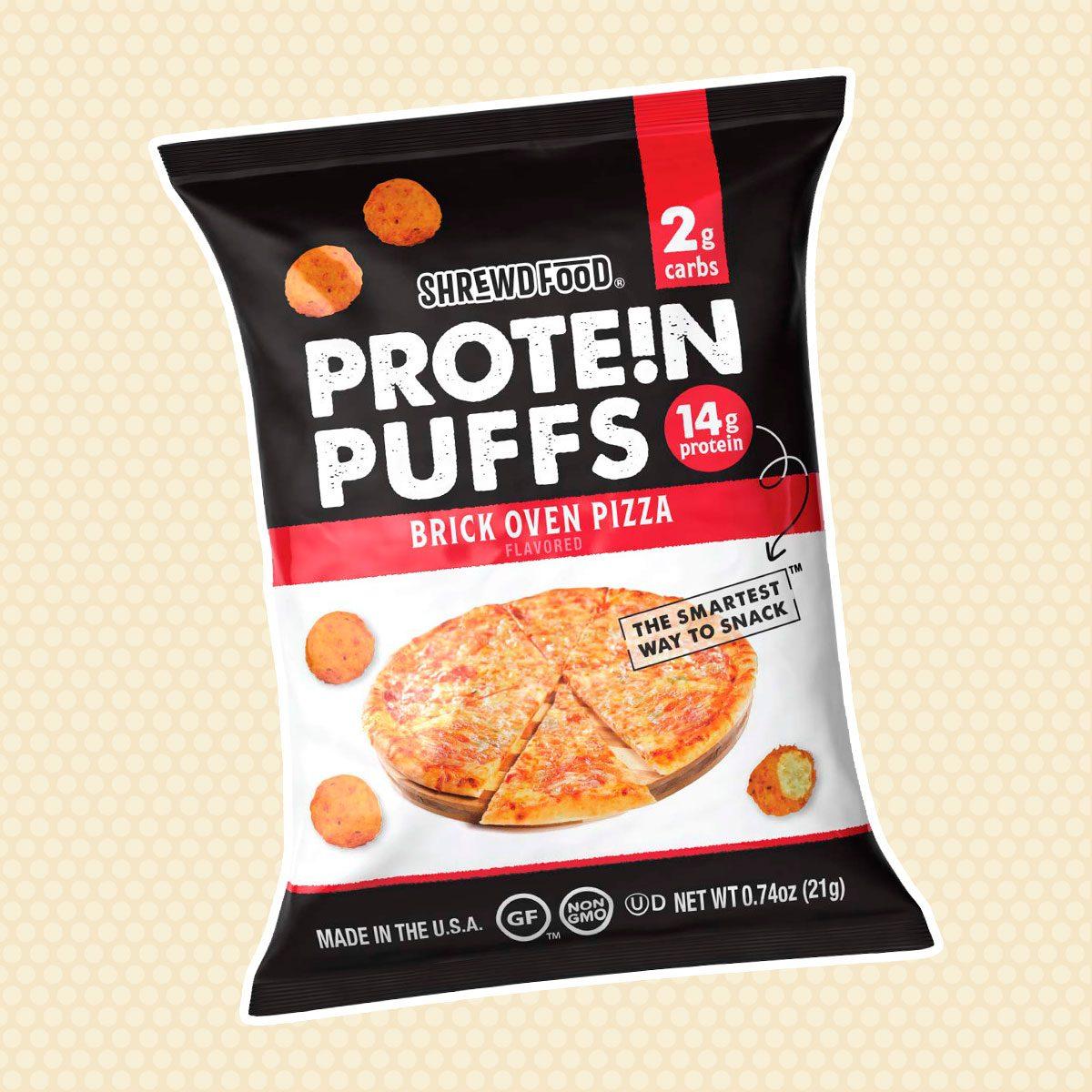Shrewd Food Brick Oven Pizza Protein Crisps