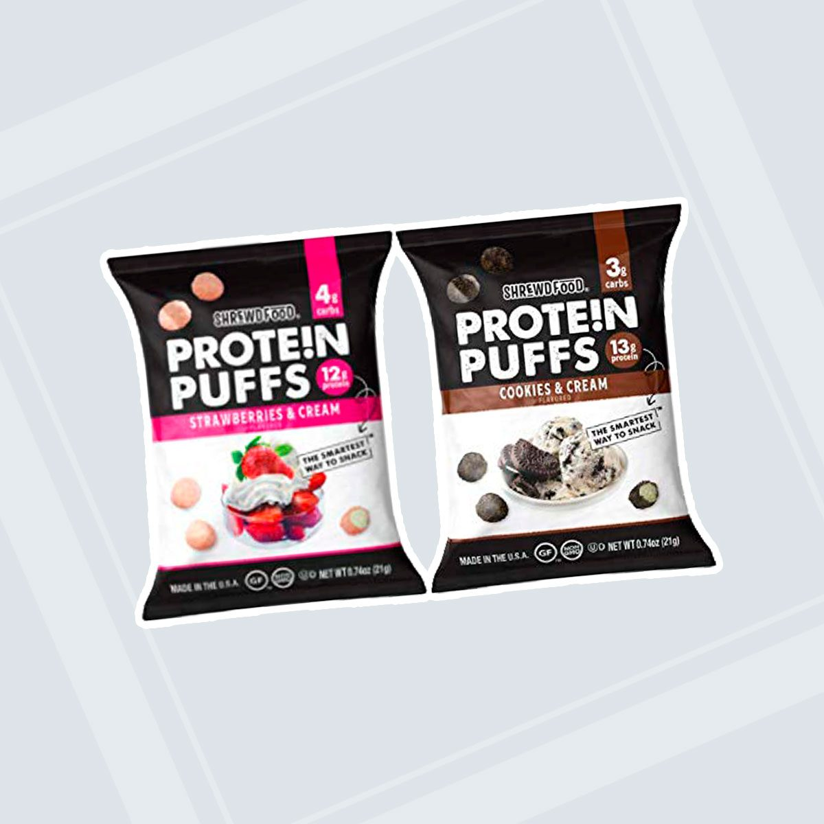 Shrewd Food Low Carb Protein Puffs